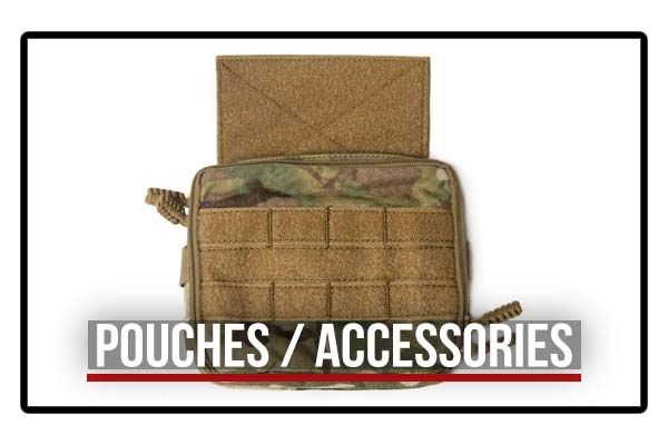 HRT Pouches and Accessories