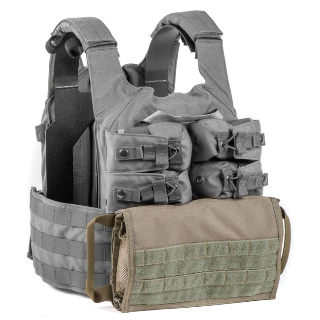 HRT Zip-On Side Pull Medical Pouch
