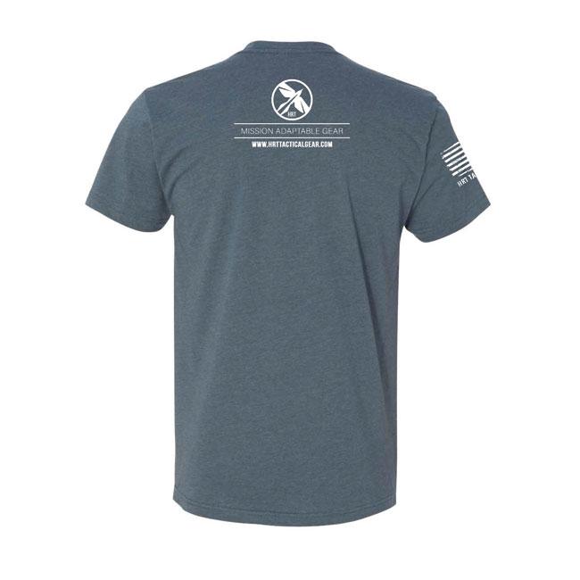 HRT Round Logo T-Shirt Indigo