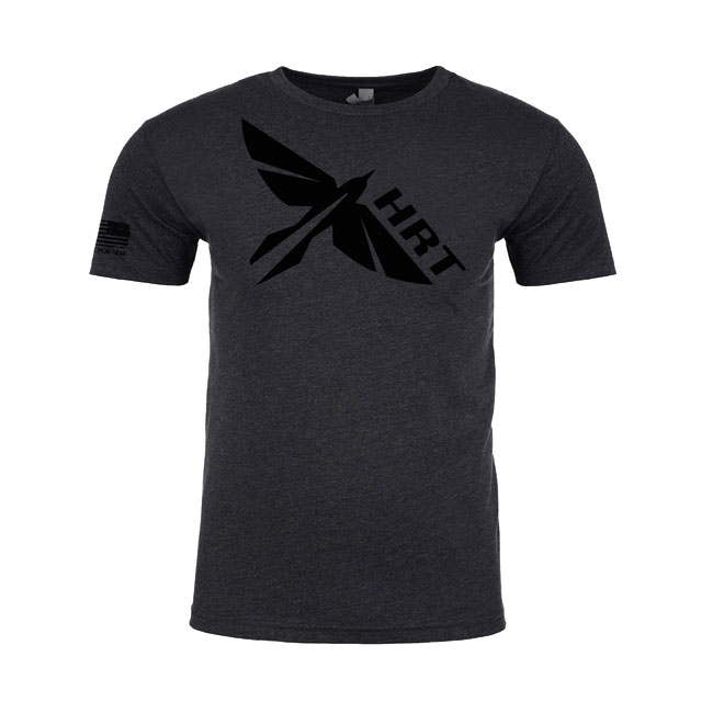 HRT Logo T-Shirt Charcoal