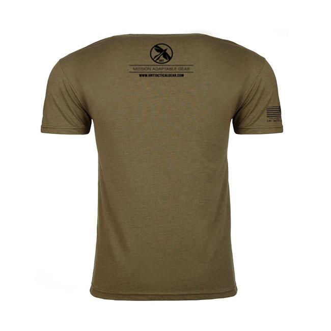 HRT Logo T-Shirt Military Green