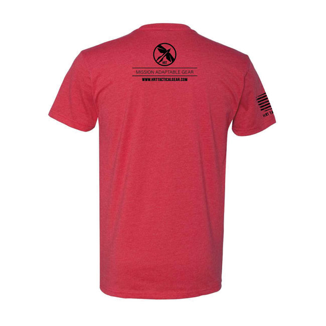 HRT Flag Logo T-Shirt Red