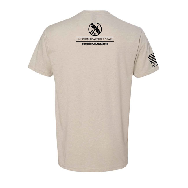 HRT Flag Logo T-Shirt Sand